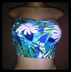 Tropical bandeau from Express